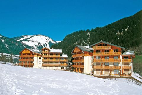 Wintersport Châtel-Linga in Châtel (Franse Alpen, Frankrijk)