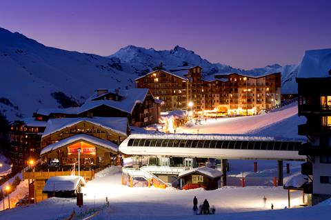 Wintersport Residence CGH Les Clarines in Les Menuires (Franse Alpen, Frankrijk)