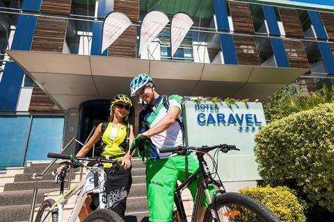 Caravel Bike Hotel Cannondale