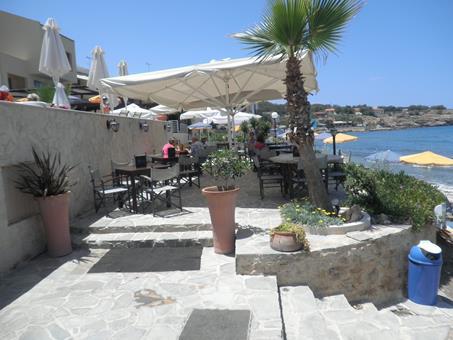 Petradi Beach Lounge Griekenland Kreta Rethymnon sfeerfoto 3