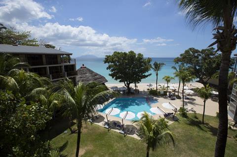 Coral Strand Seychellen Mahé Beau Vallon sfeerfoto 1