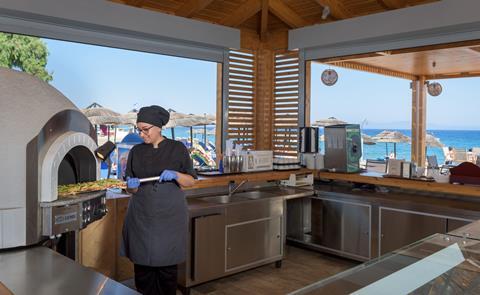 Avra Beach Griekenland Rhodos Ixia sfeerfoto 3