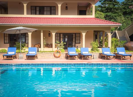 The Oasis Hotel Seychellen Praslin Grand Anse sfeerfoto 2