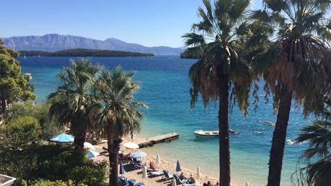 Palm Trees Hotel Griekenland Lefkas Nidri sfeerfoto 2