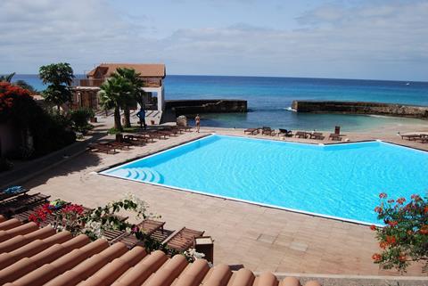 Porto Antigo Kaapverdië Sal Santa Maria  sfeerfoto groot
