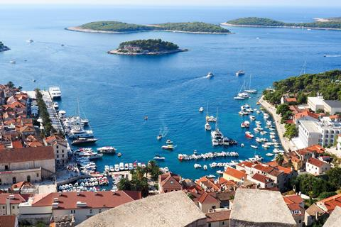 Chic en karakteristiek Kroatië