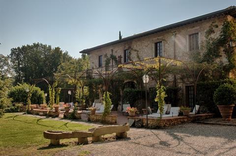 Borgo San Luigi Italië Toscane Monteriggioni sfeerfoto 4