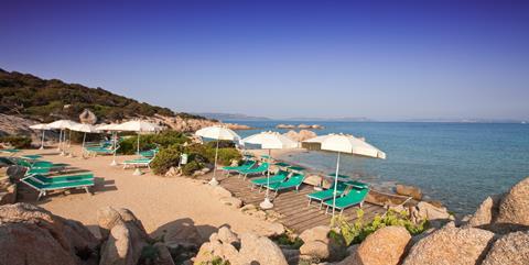 Club Hotel Italië Sardinië Baia Sardinia sfeerfoto 1