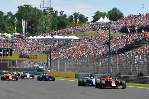 Budapest - Formule 1