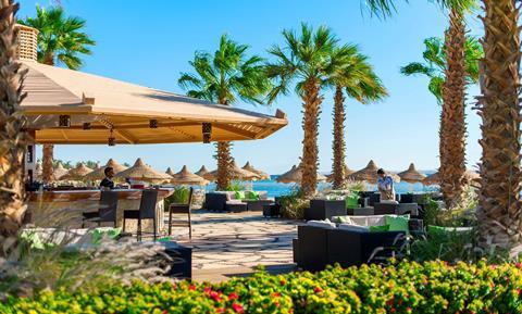 Baron Resort Egypte Sharm el Sheikh Sharks Bay sfeerfoto 4