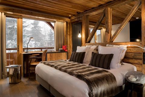 Goedkope skivakantie Franse Alpen ⛷️Chalet Mounier