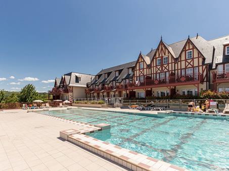 Goedkope vakantie Normandië 🚗️P&V Residence et Spa Houlgate