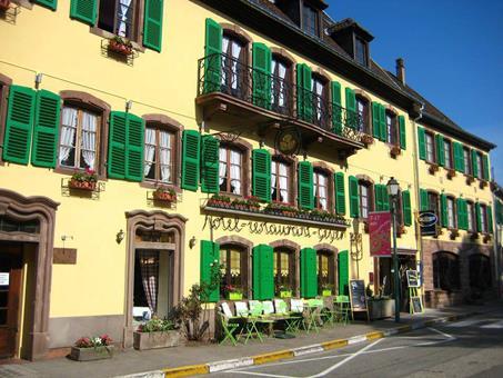 Autovakantie Aux 3 Roses in La Petite-Pierre (Elzas - Lorraine, Frankrijk)
