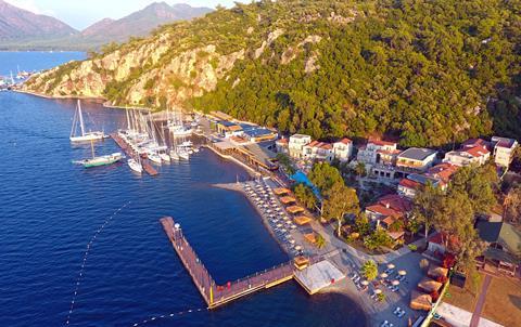 Club Adakoy Resort Turkije Lycische Kust Marmaris sfeerfoto 3