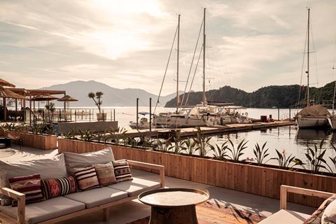 Club Adakoy Resort Turkije Lycische Kust Marmaris sfeerfoto 2