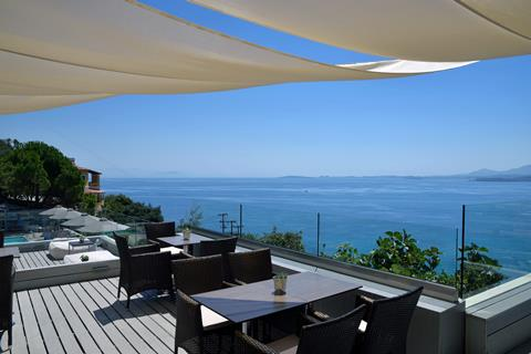 Marilena Sea View Griekenland Corfu Pyrgi sfeerfoto 4