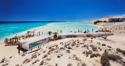 Meliá Fuerteventura Spanje Canarische Eilanden Costa Calma  sfeerfoto groot