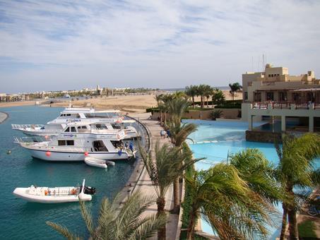 Marina Lodge Egypte Marsa Alam Port Ghalib sfeerfoto 2