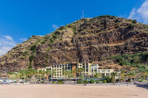 Calheta Beach Portugal Madeira Calheta sfeerfoto 3
