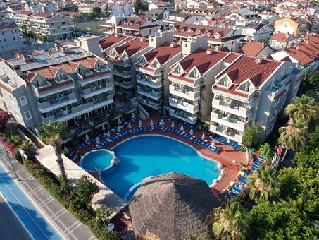 Begonville Turkije Lycische Kust Marmaris sfeerfoto 3