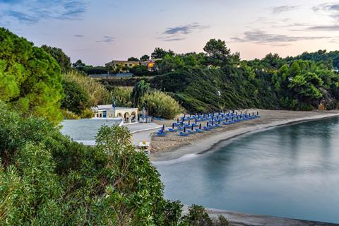 Mediterranee Griekenland Kefalonia Lassi sfeerfoto 2