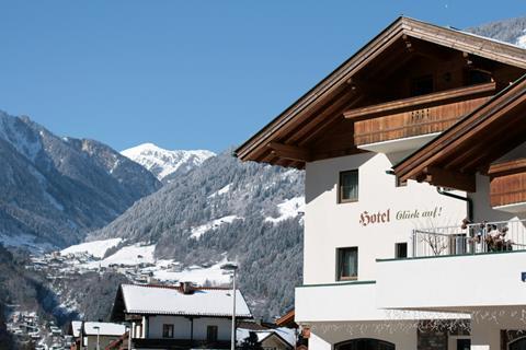 Appartement Mayrhofen in Hotel Gluck Auf