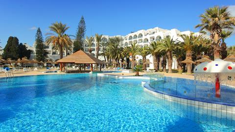 Marhaba Beach Tunesië Golf van Hammamet Sousse  sfeerfoto groot
