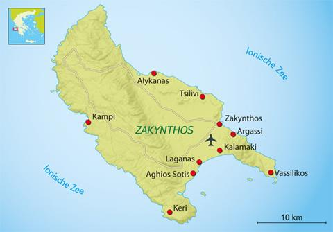 13-daagse fietsreis Ionische Eilanden Griekenland   sfeerfoto 3