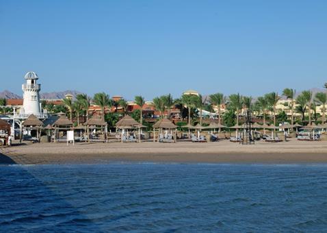 Coral Sea Holiday Resort Egypte Sharm el Sheikh Nabq Bay sfeerfoto 1