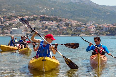 8-daagse avontuurlijke familiereis Dalmatië