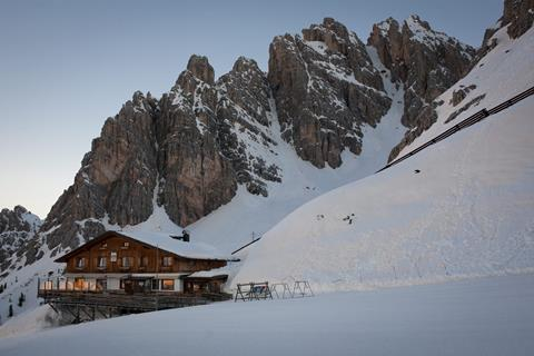 8-daagse Skihuttentocht Dolomieten