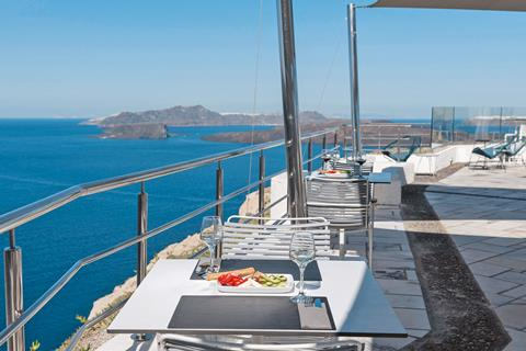 Caldera's Dolphin Suites Griekenland Cycladen Megalochori sfeerfoto 3