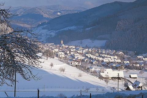 Goedkope skivakantie Baden Württemberg ⛷️Hirschen
