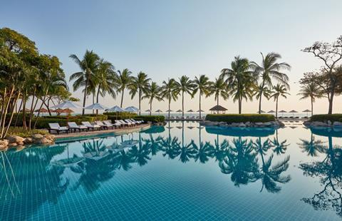 Hyatt Regency Hua Hin Thailand Golf van Thailand Hua Hin sfeerfoto 1