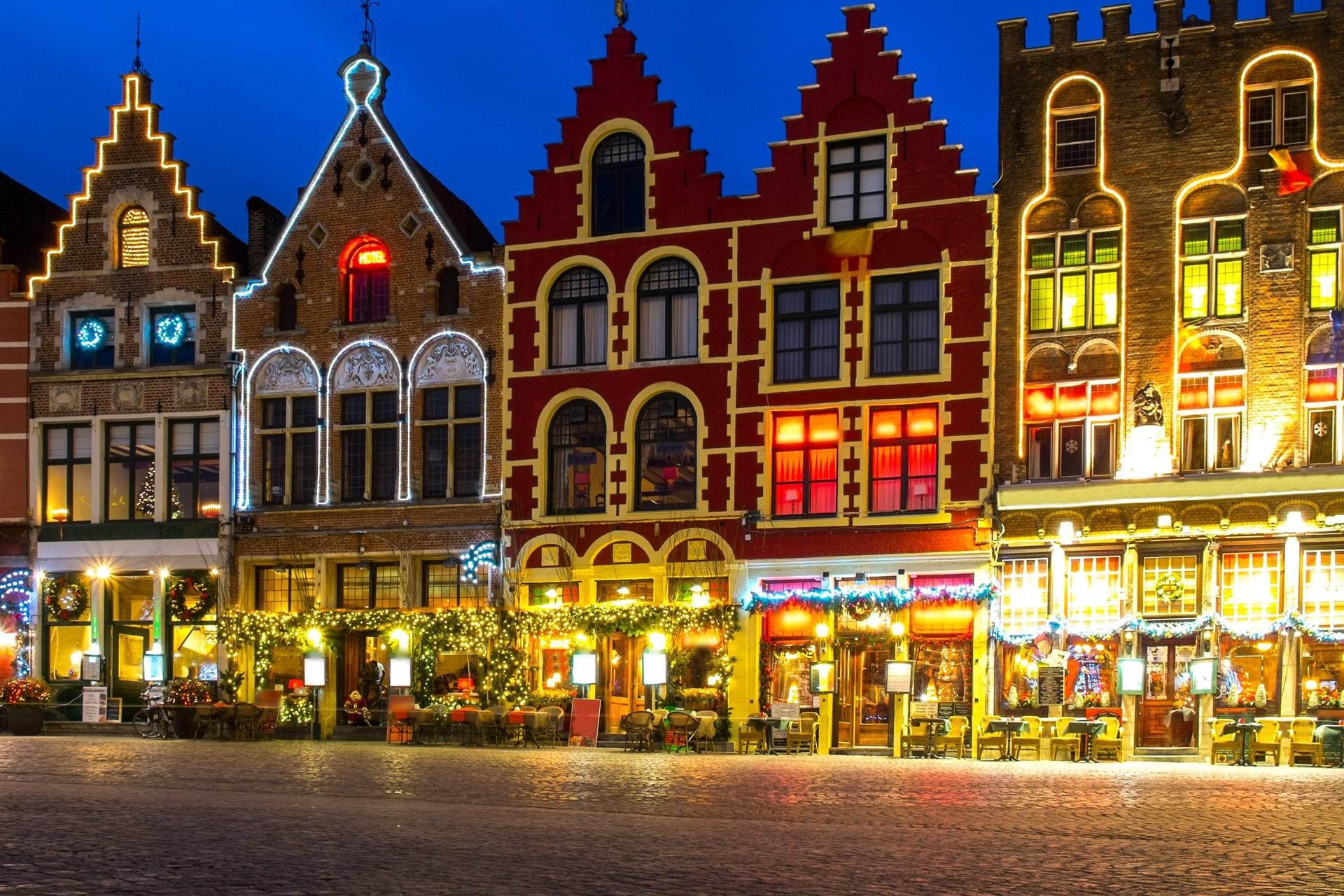 Kerstmarkt Brugge Tui