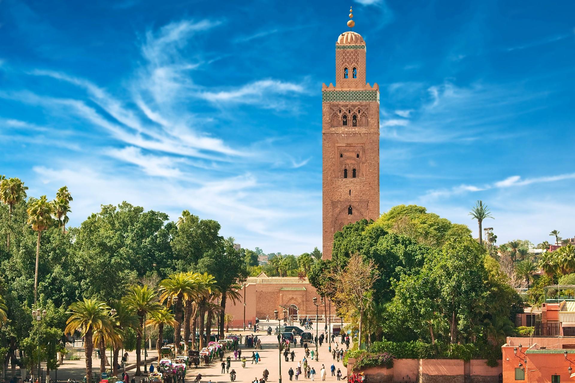 Vliegtickets  Marrakech