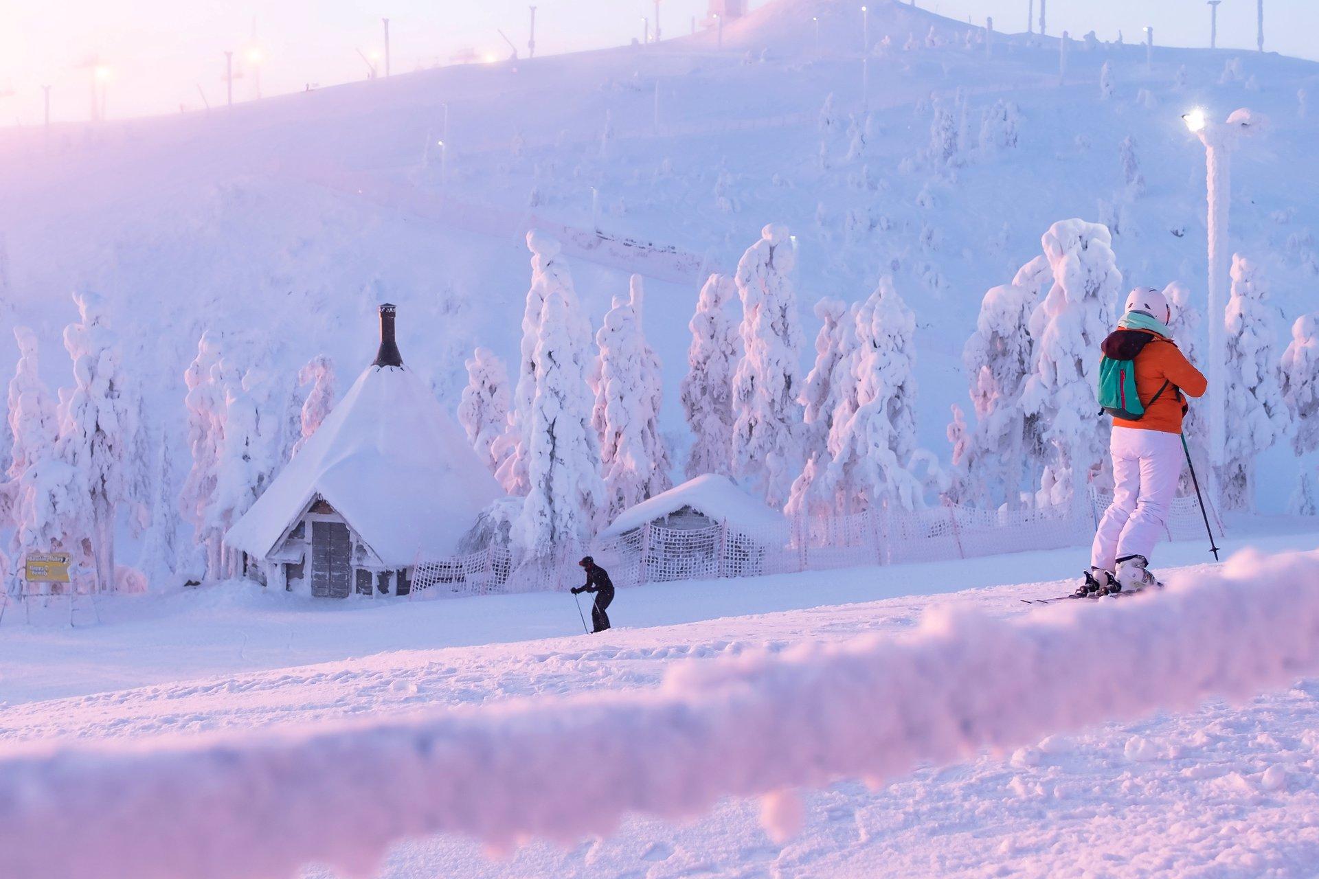 Skigebied Ruka & Kuusamo