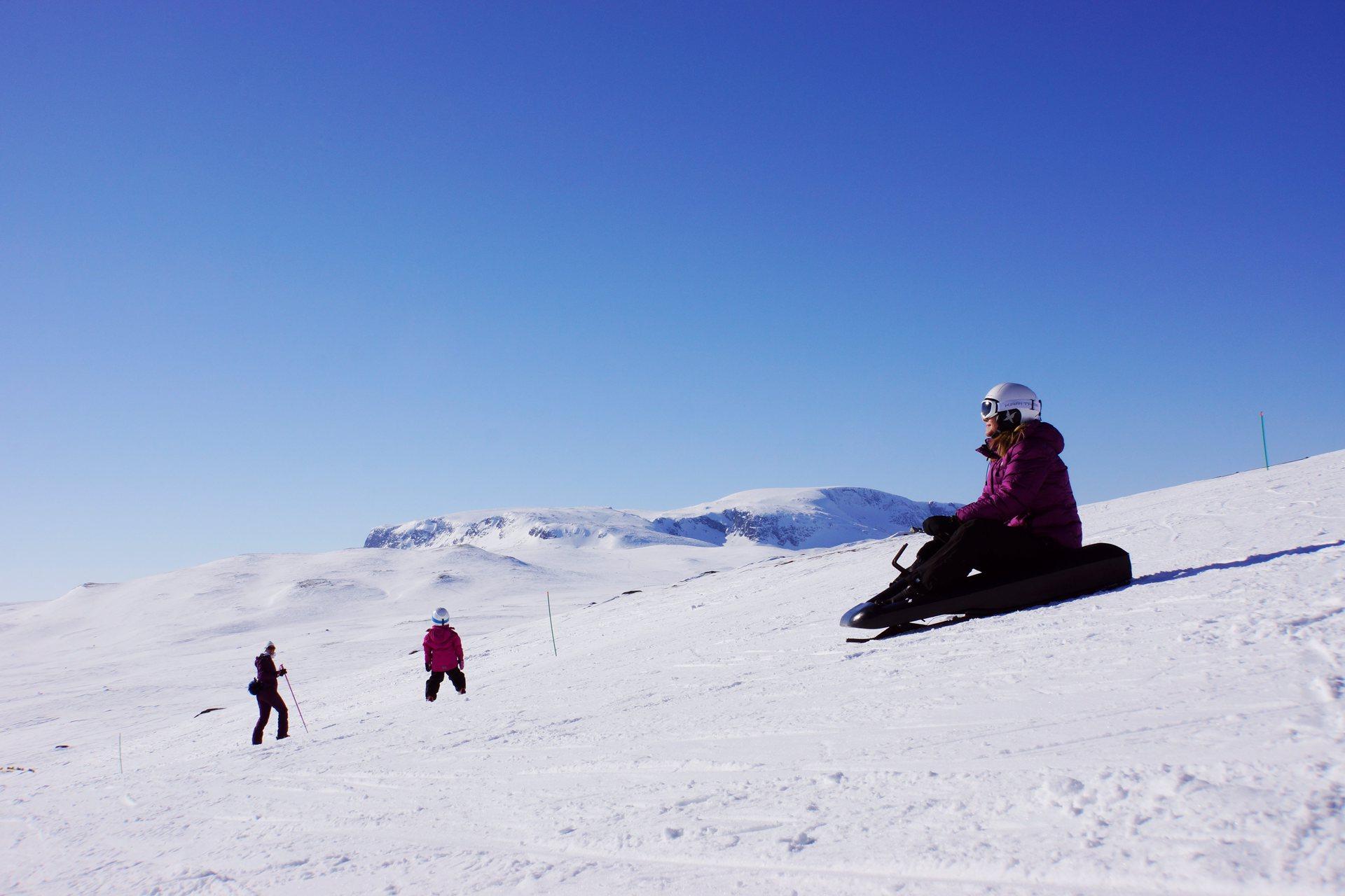 Skigebied Geilo