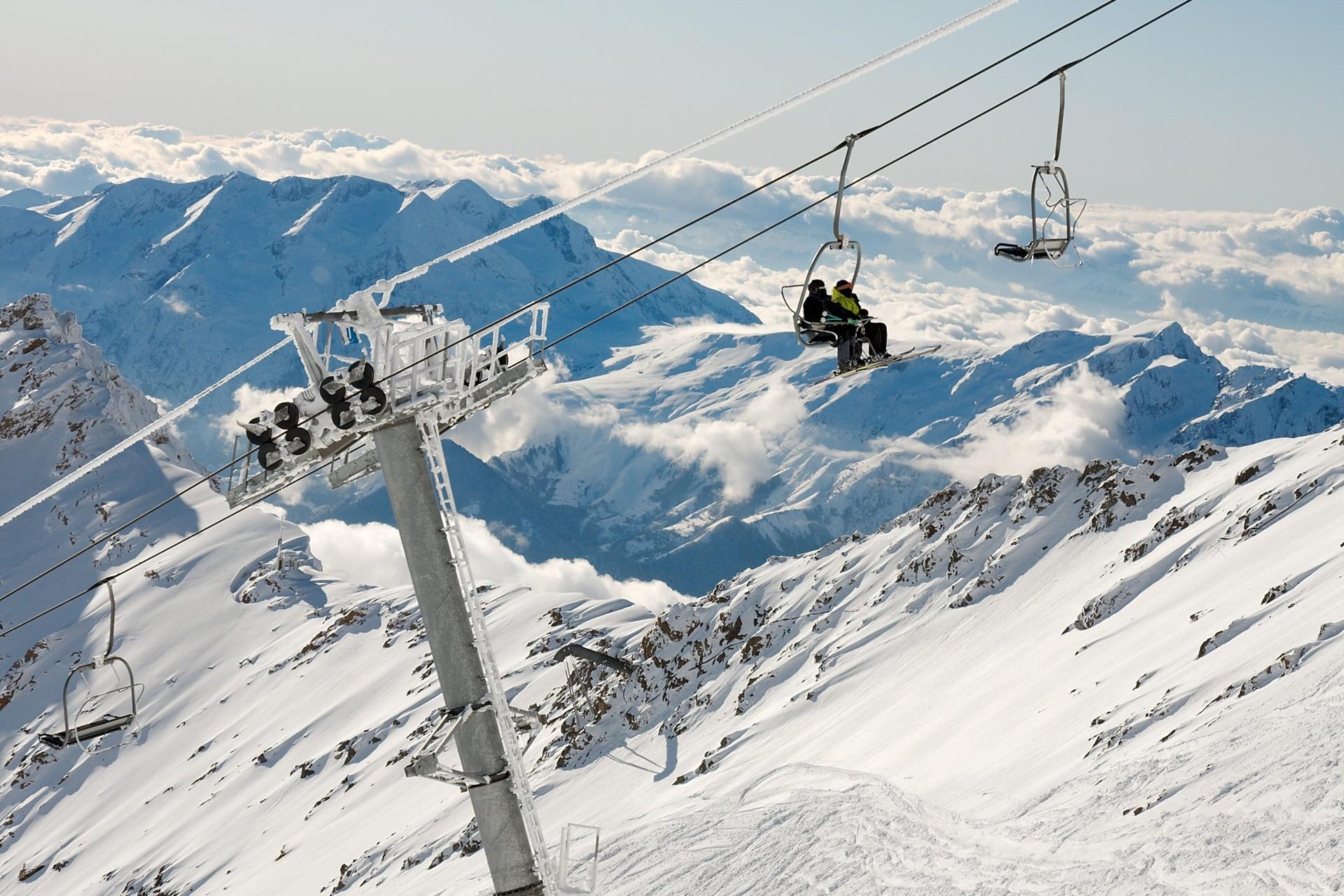 Skigebied l'Alpe d'Huez