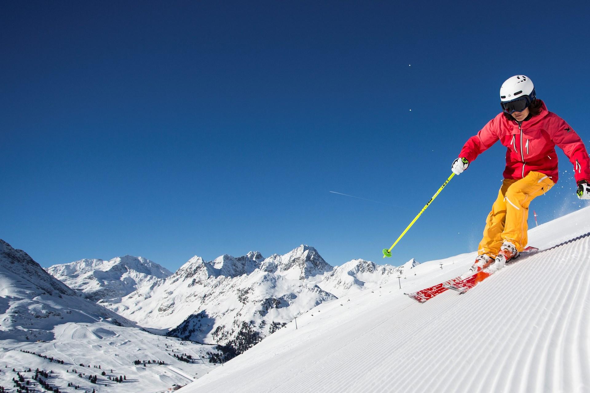 Skigebied Obergurgl